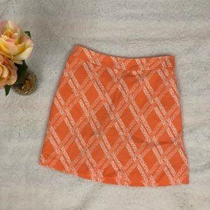 NWT Ashworth Orange Skort/Skirt 2